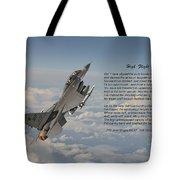 F16 - High Flight Tote Bag