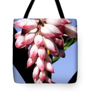 F16 Shell Ginger Flowers Tote Bag