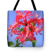 F18 Hawaiian Hibiscus Tote Bag