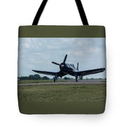 F4u-4 Corsair Airplane 30 Tote Bag
