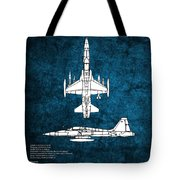 F5 Tiger Tote Bag