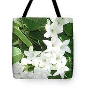F7 Stephanotis  Flowers Tote Bag