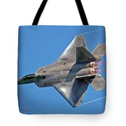 Fa 22 Raptor From Air Show Tote Bag