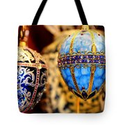 Faberge Holiday Eggs Tote Bag