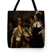 Fabritius Carel The Beheading Of St John The Baptist Tote Bag