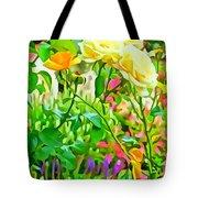 Fabulous Florals 333 Tote Bag