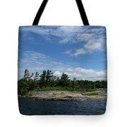 Fabulous Northern Summer - Georgian Bay Island Landscape Tote Bag
