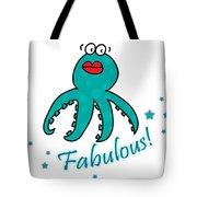 Fabulous Octopus Tote Bag