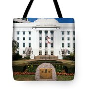 Facade Of An Office Building, Lurleen Tote Bag