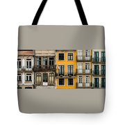 Facades Of Porto Tote Bag