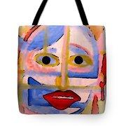 Face 1 Tote Bag