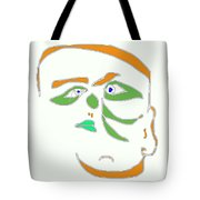 Face 1 On White Tote Bag