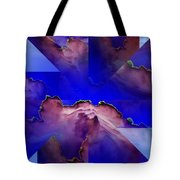 Face Cloud Illusion Tote Bag