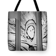 Face In Space B G I Tote Bag