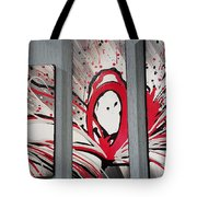 Face In Space I I Tote Bag