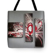 Face In Space Tote Bag