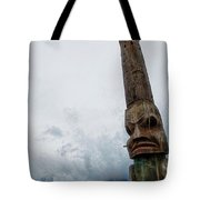 Face In The Clouds Tote Bag