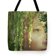 Face In The Willows Tote Bag