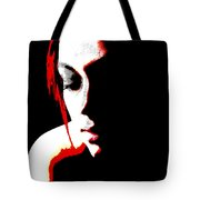 face of Courtney Tote Bag