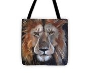 Face Of Majesty Tote Bag