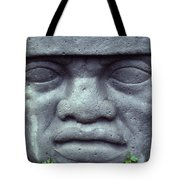 Face On Bali Tote Bag