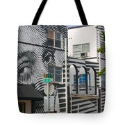 Face On House Tote Bag