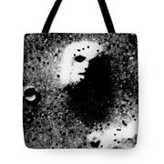 Face On Mars Tote Bag