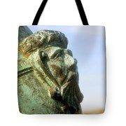 Face On The Cannon Tote Bag