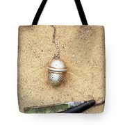 Face On The Sand Tote Bag