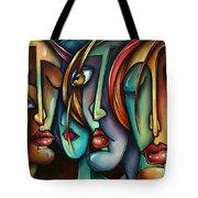 'face Us' Tote Bag