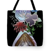 Face Vase Tote Bag