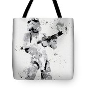 Faceless Enforcer Tote Bag