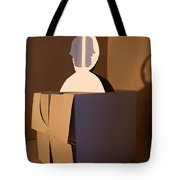 Faces 2 Tote Bag