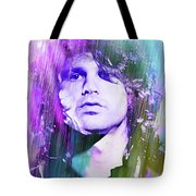 Faces Come Out Of The Rain Tote Bag
