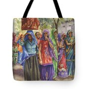 Faces From Across The World Tote Bag