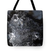 Faces Of Frost Tote Bag