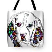Faces Of Life 37 Beagle Tote Bag