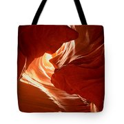 Faces Of Light Tote Bag