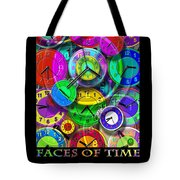 Faces Of Time 1 Tote Bag