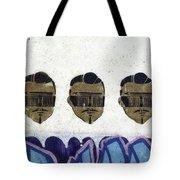 Faces Tote Bag