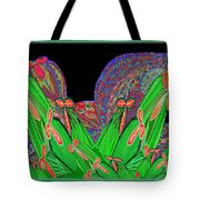 Facination For Cactus Plants And  Flower Tote Bag