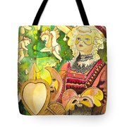 Facing Dreams Tote Bag
