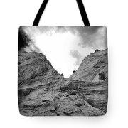 Facing Rock Tote Bag