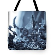 Facing The Enemy Tote Bag