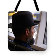 Facing The Modern World Tote Bag