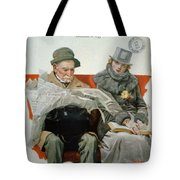 Fact And Fiction Tote Bag