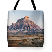 Factory Butte 0761 Tote Bag