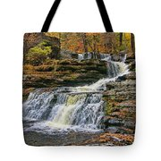 Factory Falls - Childs State Park Tote Bag