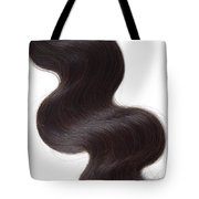 Factory Price Top Quality Hair Weft Unprocessed Brazilian Body Wave Hair- Straight View Tote Bag