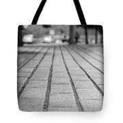 Fade Out Lines Tote Bag